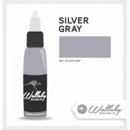 SILVER GRAY Wallaby Ink 1oz